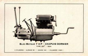 1100 cm3 Chapuis-Dornier