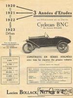 BNC-1923-ex-JMK-225x300 B.N.C. Cyclecar / Grand-Sport / Bitza Divers