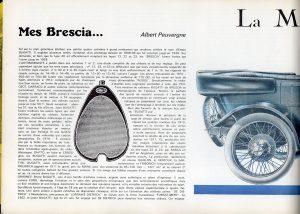 """Bugatti-Brescia-dans-Lautomobiliste-n3-1967-1-e1463522399125-300x214 Bugatti """"Brescia"""" (type 13) dans L'Automobiliste (de 1967) Divers Voitures françaises avant-guerre"""