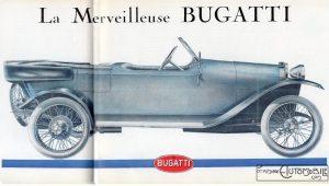 """Bugatti-Brescia-dans-Lautomobiliste-n3-1967-dessin-1-300x170 Bugatti """"Brescia"""" (type 13) dans L'Automobiliste (de 1967) Divers Voitures françaises avant-guerre"""