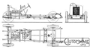 Donnet-Zdel-type-CI-6-châssis-300x164 Donnet-Zedel CI-6 Berline de 1925 Divers Voitures françaises avant-guerre