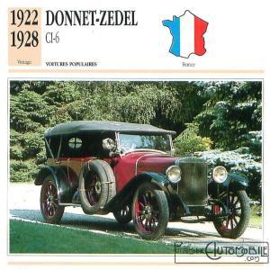 Donnet-Zdel-type-CI-6-fiche-1--300x300 Zedel Type CI-6 Torpédo de 1923 Divers Voitures françaises avant-guerre