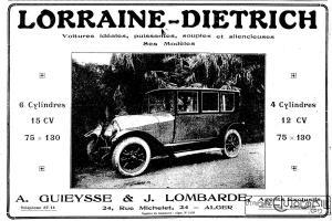 """LAfrique-du-Nord-illustrée-1923-2-300x200 La Lorraine Dietrich 15 Cv dans """"Le génie Civil"""" 1923 Lorraine Dietrich 15 CV 1923"""