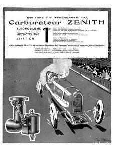 carbu zenith 1924 pub
