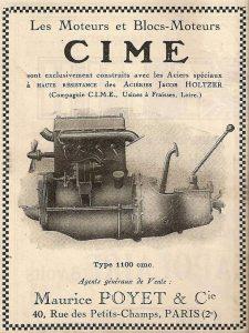 cime moteur