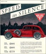 Alvis 1935 Speed 20 pub
