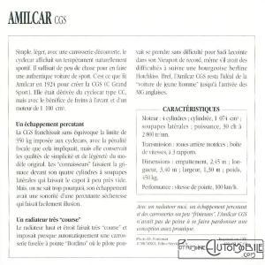 amilcar-CGS-fiche-2-300x300 Amilcar CGSS (1926/1929) Cyclecar / Grand-Sport / Bitza Divers