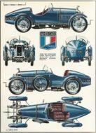 amilcar-cgss-dessin-216x300 Amilcar CGSS (1926/1929) Cyclecar / Grand-Sport / Bitza Divers