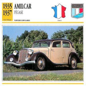 amilcar-pegase-fiche-300x300 Amilcar Pégase Divers Voitures françaises avant-guerre