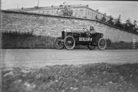 Benjamin 21-5-1923, Bol d'or, Mme Gouraud Morriss sur Benjamin cyclecar, Saint-Germain-en-Laye, circuit des Loges 3