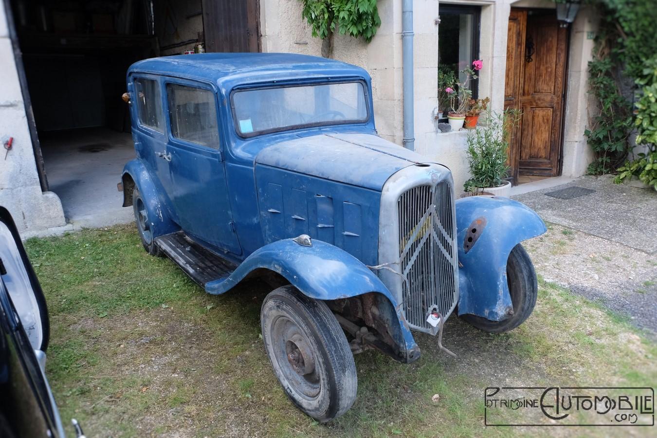 citro n rosalie 10al de 1933 en sortie de grange patrimoine automobile com. Black Bedroom Furniture Sets. Home Design Ideas