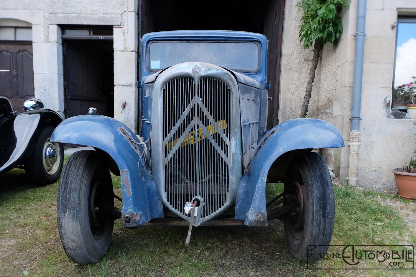 citro u00ebn rosalie 10al de 1933 en sortie de grange