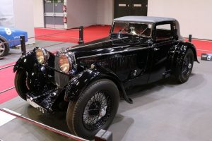 Aston Martin Headlam Coupé 1500 (1930) retromobile-2016-une-femme-une-collection