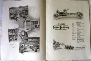 Talbot Darracq 1921 catalogue 3