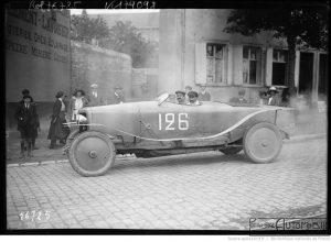"""27-7-22-grand-prix-de-Boulogne-Victor-Rigal-sur-Panhard-Levassor-1er-touristes-4-litres-400-2-300x220 Panhard Levassor """"Record"""" 1922 Cyclecar / Grand-Sport / Bitza Divers Voitures françaises avant-guerre"""