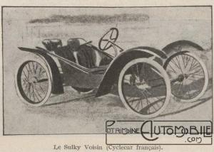 Automobilia-15-02-1920-cyclecars-1-sulky-voisin-300x214 Les cyclecars (Automobilia du 15/02/1920) 2/2 Cyclecar / Grand-Sport / Bitza Divers