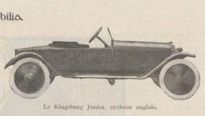 Automobilia-15-02-1920-cyclecars-3-kingsburg-junior-300x169 Les cyclecars (Automobilia du 15/02/1920) 2/2 Cyclecar / Grand-Sport / Bitza Divers