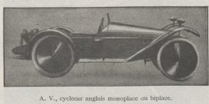 Automobilia-31-01-1920-cyclecars-AV-300x149 Les cyclecars (Automobilia du 31/01/1920) 1/2 Cyclecar / Grand-Sport / Bitza Divers