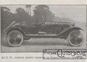 Automobilia-31-01-1920-cyclecars-GN-300x214 Les cyclecars (Automobilia du 31/01/1920) 1/2 Divers
