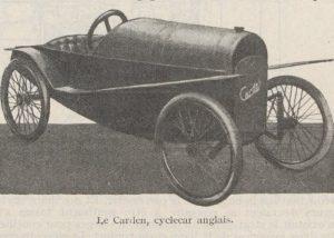 Automobilia-31-01-1920-cyclecars-carden-300x214 Les cyclecars (Automobilia du 31/01/1920) 1/2 Cyclecar / Grand-Sport / Bitza Divers