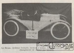 Automobilia-31-01-1920-cyclecars-sicam-300x214 Les cyclecars (Automobilia du 31/01/1920) 1/2 Divers