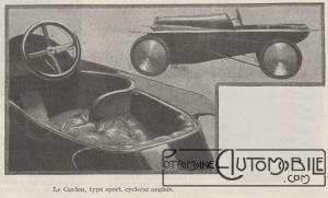 Automobilia-cyclecar-carden-300x181 Les cyclecars (Automobilia du 31/01/1920) 1/2 Divers