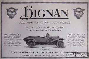 Bignan-pub-300x200 Bignan à Rétromobile Divers