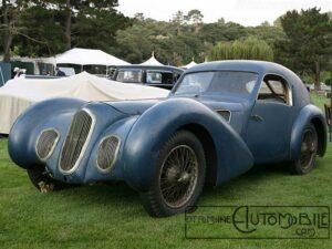 """Pourtout_Talbot-Lago_T150C_SS_Coupe_1939_08-300x225 Talbot-Lago T150C SS """"Goutte d'eau"""" Divers Voitures françaises avant-guerre"""