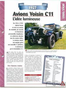 """voisin-c11-fiche-1-225x300 Voisin C11 """"Chasseriez"""" 1927 Voisin"""