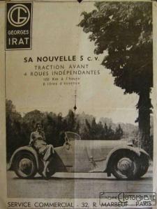 G-Irat-5-cv-pub-225x300 Historique Georges Irat Divers Georges Irat