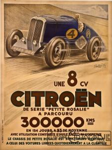 "citroen-rosalie-des-records-montlhery-pierre-louys-1934-225x300 ""Petite Rosalie"" des records 1933 Cyclecar / Grand-Sport / Bitza Divers"