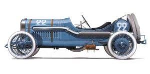 peugeot-GP-3-300x149 La Peugeot des Charlatans (GP 1912) Cyclecar / Grand-Sport / Bitza Divers