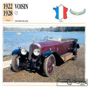 voisin-c3-fiche-1-298x300 Voisin C3 Sport 1921 Voisin