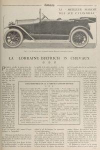 Omnia-juin-1921-Lorraine-dietrich-15-cv-1-200x300 Lorraine Dietrich B2-6 torpédo de 1922 Lorraine Dietrich Lorraine Dietrich B2-6 1920