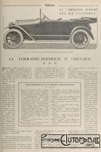 Omnia-juin-1921-Lorraine-dietrich-15-cv-1-200x300 Lorraine Dietrich B2-6 torpédo de 1922 Lorraine Dietrich B2-6 1920