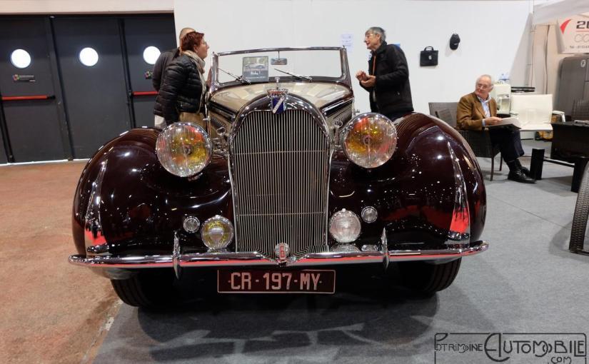 Talbot T23 cabriolet par Chapron 1939