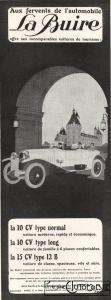"""pub-la-buire-1926-111x300 La Buire """"Sport"""" 1926 Cyclecar / Grand-Sport / Bitza Divers"""