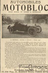 Motobloc-pub-1-196x300 MOTOBLOC Type N 1909 Divers Voitures françaises avant-guerre