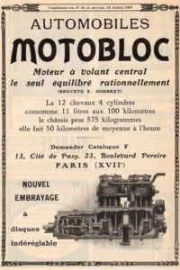 Motobloc-pub-3-200x300 MOTOBLOC Type N 1909 Divers Voitures françaises avant-guerre
