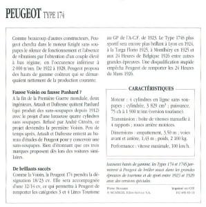 Peugeot-18-CV-174-Fiche-2-298x300 Peugeot 174 S Torpedo Divers Voitures françaises avant-guerre