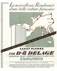 Delage-Pub-1930-240x300 Delage D8S Coach par Chapron de 1932 Divers Voitures françaises avant-guerre