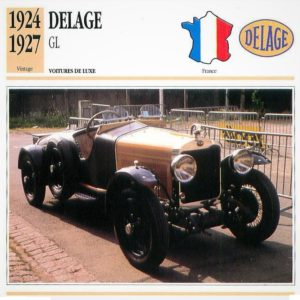 Delage-GL-fiche-1-300x300 Delage Type GL 1924, skiff Labourdette Divers Voitures françaises avant-guerre