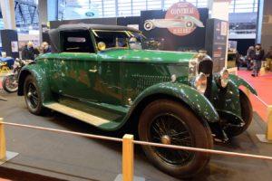 Peugeot-176-1926-cabriolet-Felber-après-restauration-Rétromobile-20184-300x200 Peugeot 176 Cabriolet Felber 1926 (2/2) Divers Voitures françaises avant-guerre