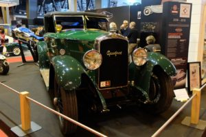 Peugeot-176-1926-cabriolet-Felber-après-restauration-Rétromobile-20189-300x200 Peugeot 176 Cabriolet Felber 1926 (2/2) Divers Voitures françaises avant-guerre