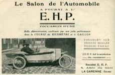 ehp-1921-300x196 EHP Type B3 de 1922 Cyclecar / Grand-Sport / Bitza Divers Voitures françaises avant-guerre