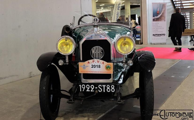 """Mathis """"modèle P"""" 1922 Torpédo"""