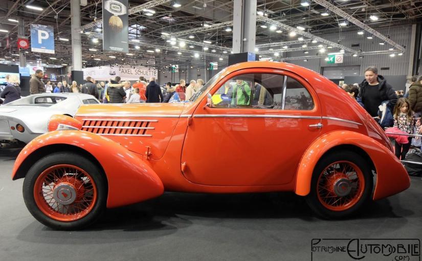 """Fiat 508 CS Balilla Aerodinamica  """"Mille Miglia"""" 1935"""