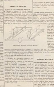 """le-génie-civil-12-janvier-1929-189x300 Messier MS-31 Coupé """"sans ressorts"""" 1927 Divers Voitures françaises avant-guerre"""