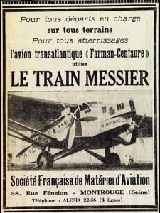 """train-datterrissage-Messier-225x300 Messier MS-31 Coupé """"sans ressorts"""" 1927 Divers Voitures françaises avant-guerre"""