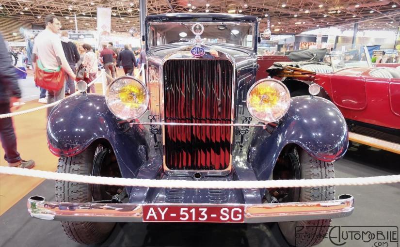 """Delage DS 14 Cv """"Berline 2 portes"""" Autobineau 1931"""